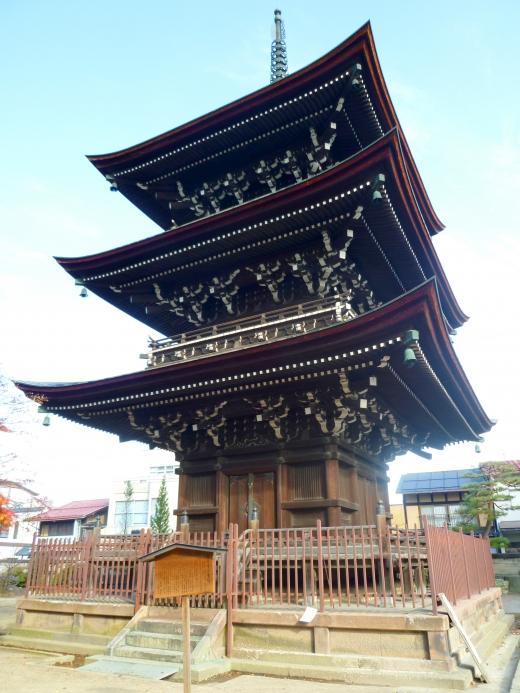 三重の塔の写真素材