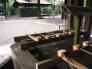 手水舎の水の写真素材03