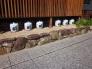日本酒の樽の写真素材