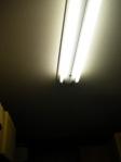 蛍光灯の写真素材