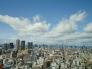 大阪の街並みの写真素材