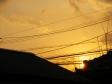 夕日の写真素材