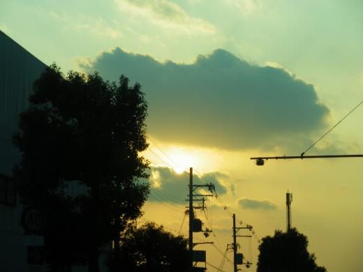 夕日の写真素材02