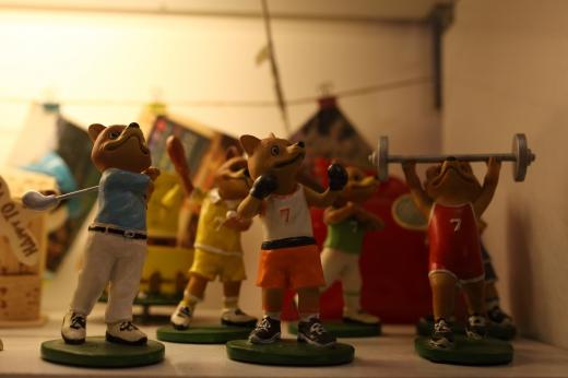 スポーツのオブジェの写真素材
