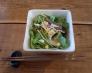 シンプルなサラダの写真素材