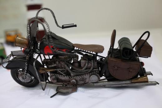 バイクのオブジェの写真素材