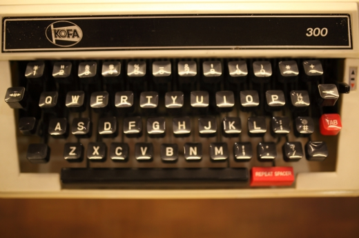 タイプライターの写真素材01