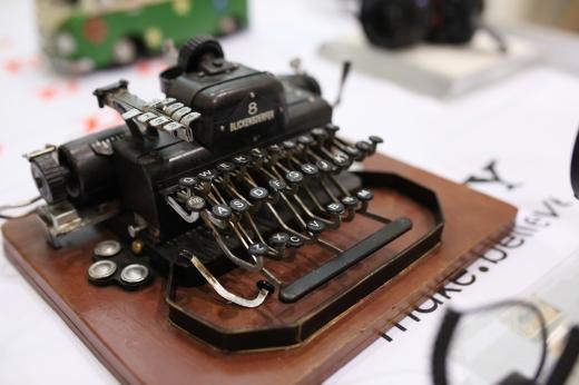 タイプライターの写真素材02