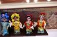 京劇人形の写真素材