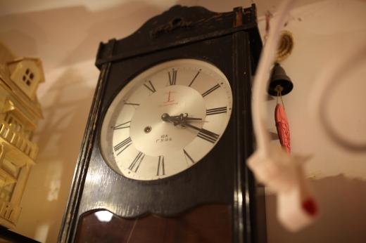 古時計の写真素材