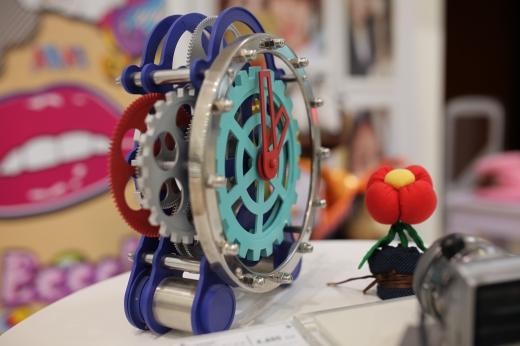 オブジェ時計の写真素材