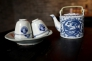 茶器セットの写真素材