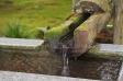 手水舎の水の写真素材05